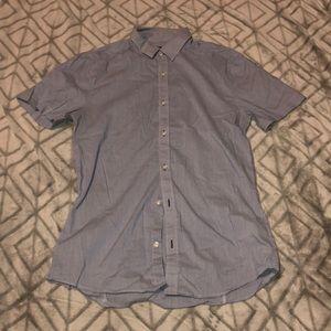 Blue Men's H&M Button Up